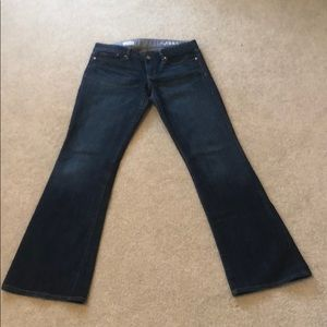 Gap 1969 Sexy Boot Denim Blue Jeans